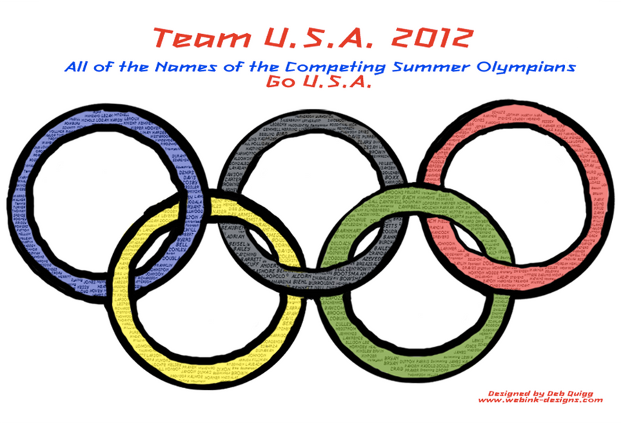 Ode To 2012 U.S.A. Olypic Team