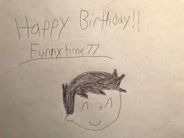 Happy Birthday Funnytime77