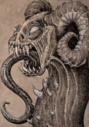 Mountain Dragon by christobet
