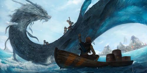 Greatest Water Dragon