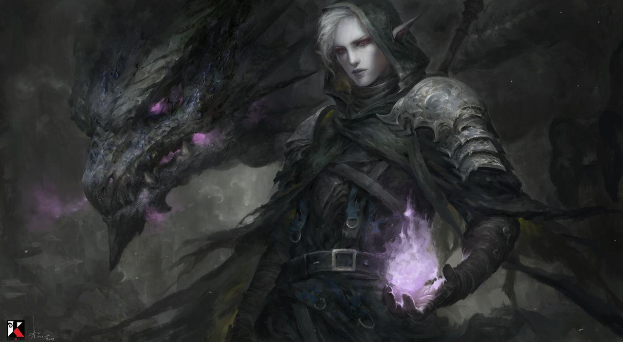 Nabil Dark Elf Commission