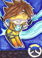 Here comes Tracer!