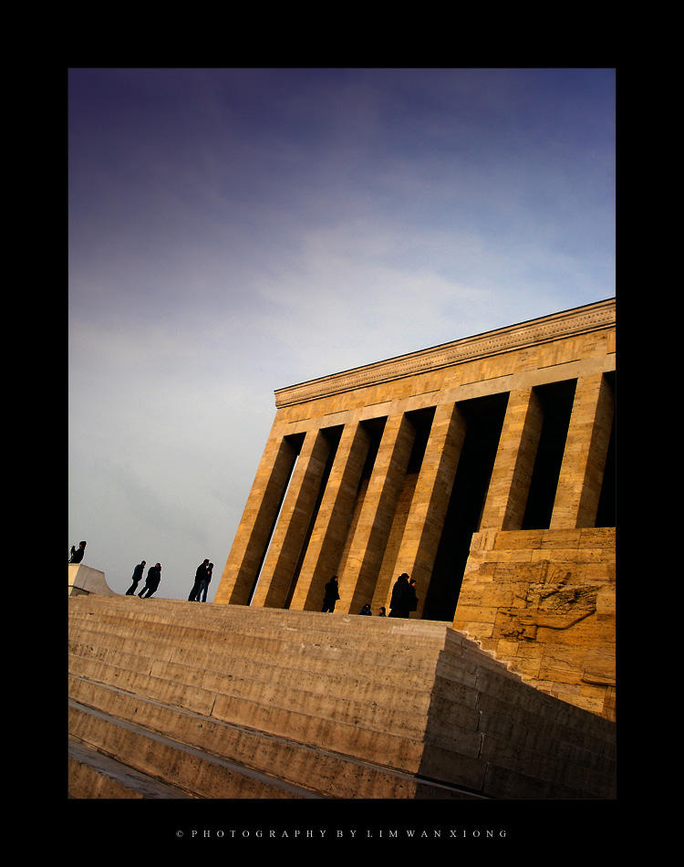 Mausoleum of Ataturk by couleur