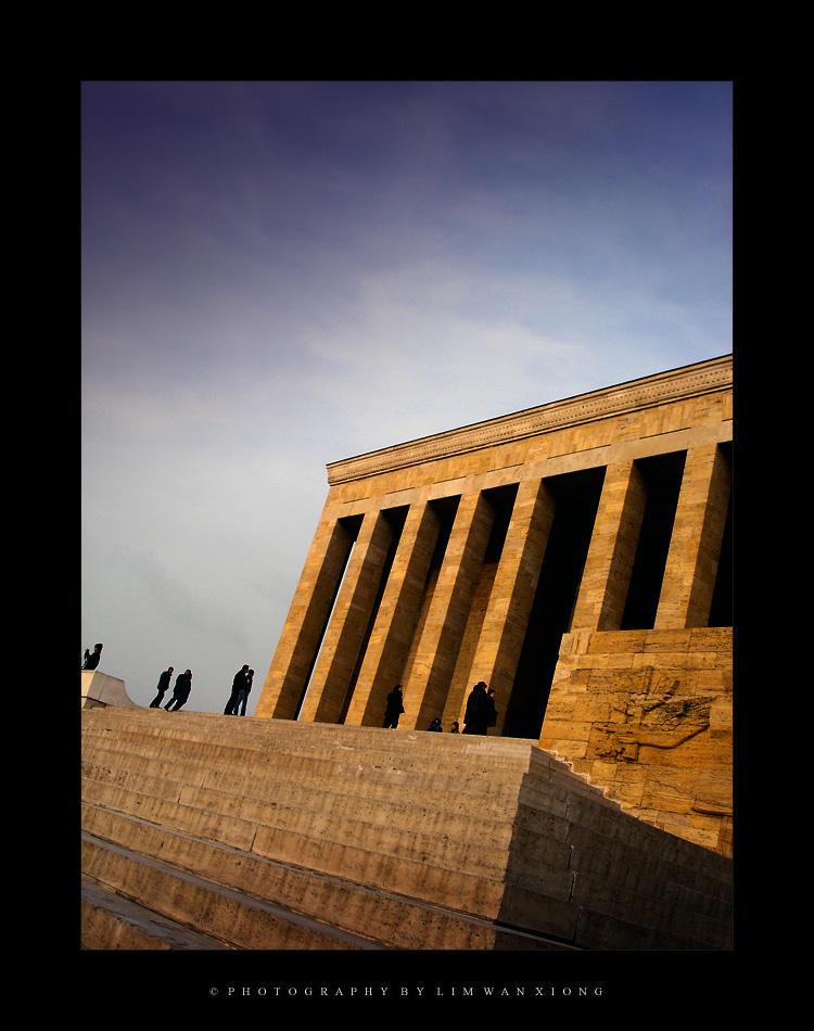Mausoleum of Ataturk by couleur