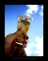 Heineken,It Cools The Atmsphr. by couleur
