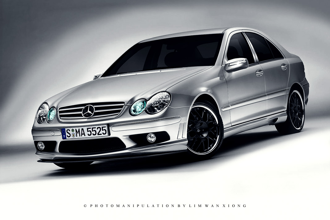 mercedes benz c550 by couleur on deviantart