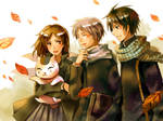 Natsume and his friends