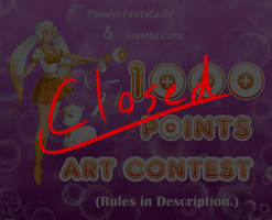 [CLOSED] 1000 POINTS ART CONTEST!