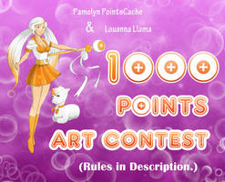 1000 POINTS ART CONTEST! by daPointsCache