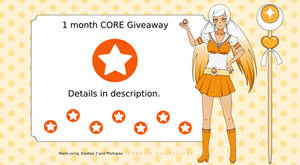 [CLOSED] 1 Month CORE Giveaway