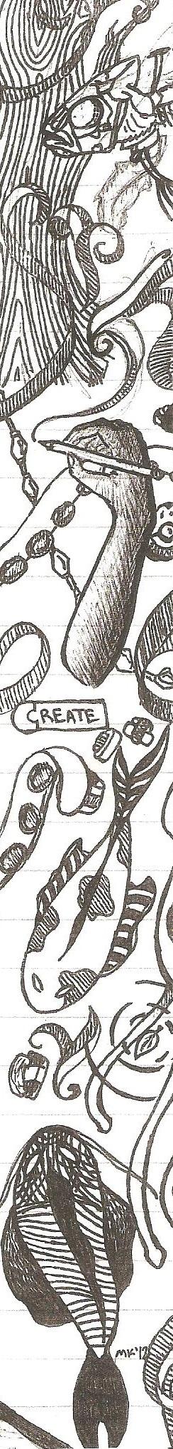 Create - Bookmark by Yshura
