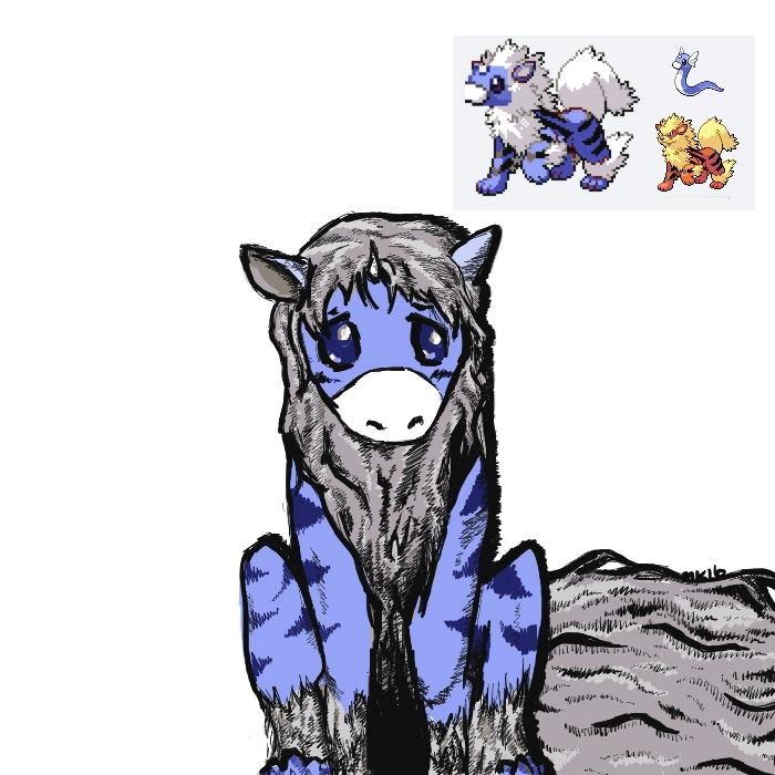 Dranine - Pokemon Fusion by Yshura