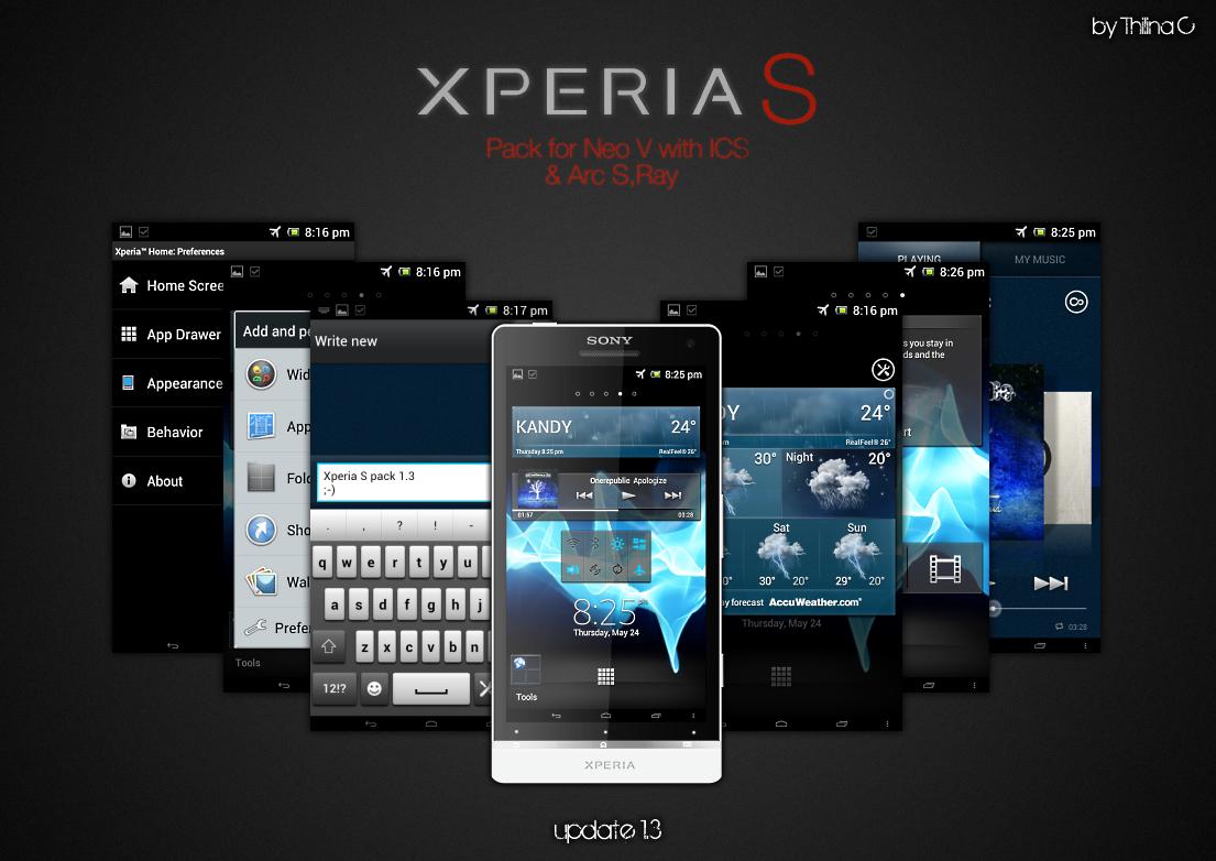 THEMEICS04310562 Xperia NXT Transf  Sony