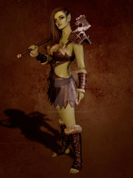 Orc Cosplay #3