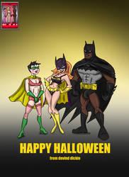 DDAU Happy Halloween 2016 no caps by DevinDickie