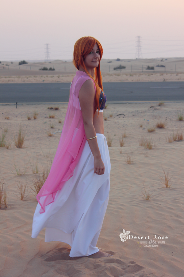 Desert Rose - Nami by Crazy-Kiwii