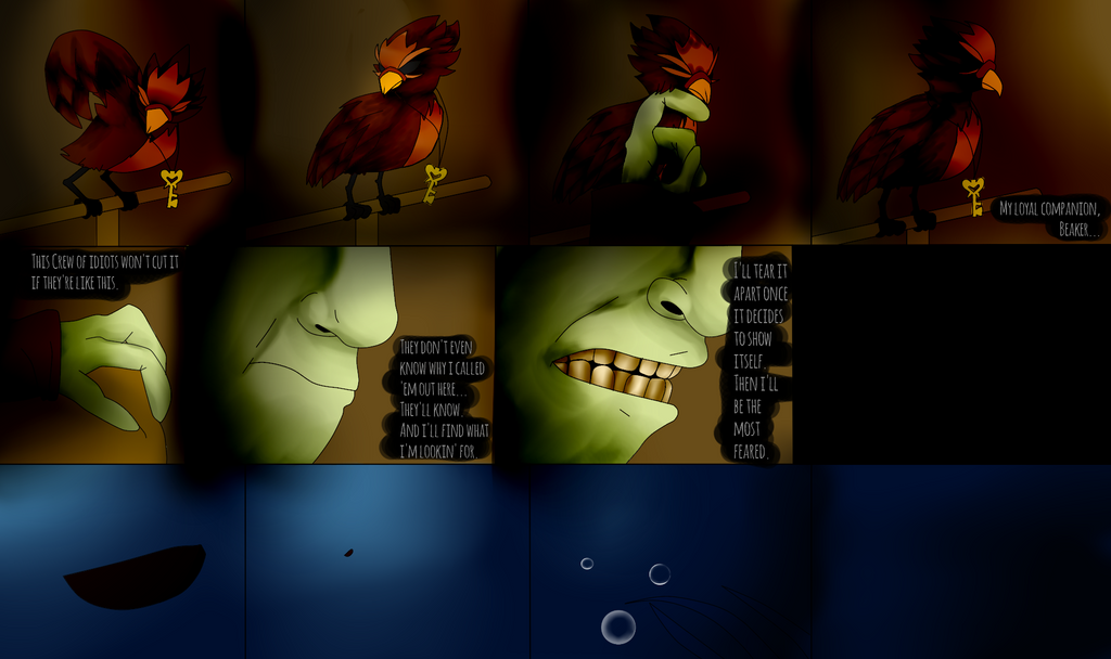 Little Nightmares: On Board! Chapter 3! (page 17) by YoLoRoBeRt2212