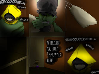 Little Nightmares: On Board! Chapter 4 (page 17) by YoLoRoBeRt2212
