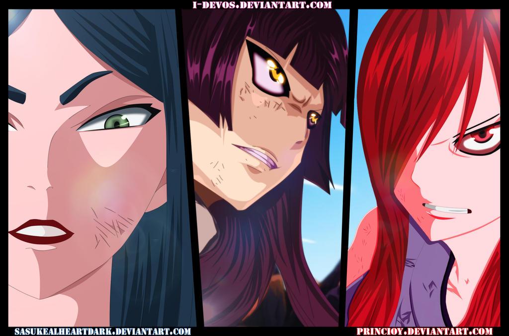 NG Sims 3 • Erza vs. Kagura vs. Minerva Fairy Tail Episode