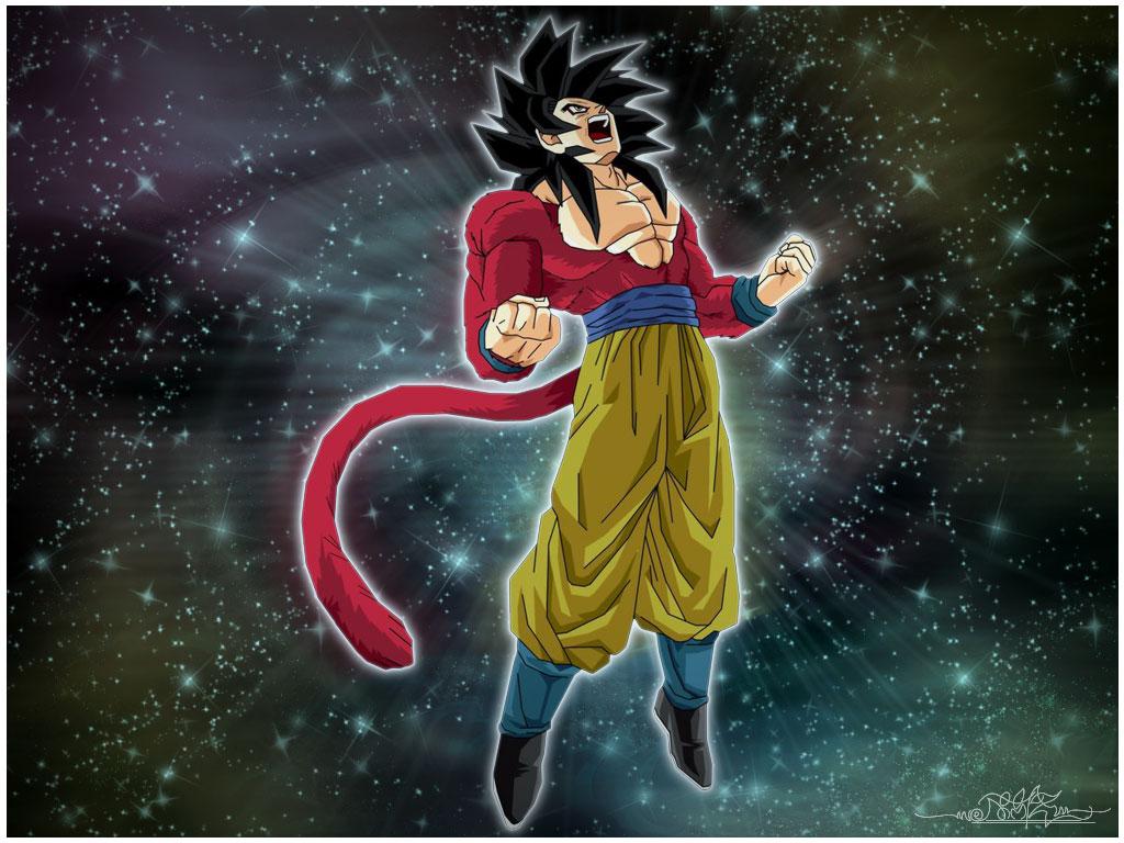 Super Saiyan 4 Goku by Kazmedia on DeviantArt