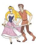 Eilonwy and Taran