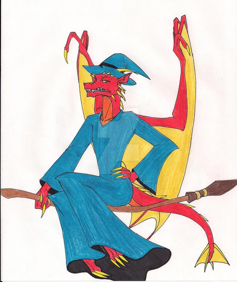 Hildegarde Witch by 13foxywolf666