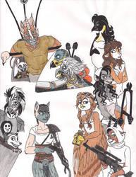 Mad Possum: Mad Max Fury Road by 13foxywolf666