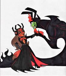 Best Evil Husband by 13foxywolf666
