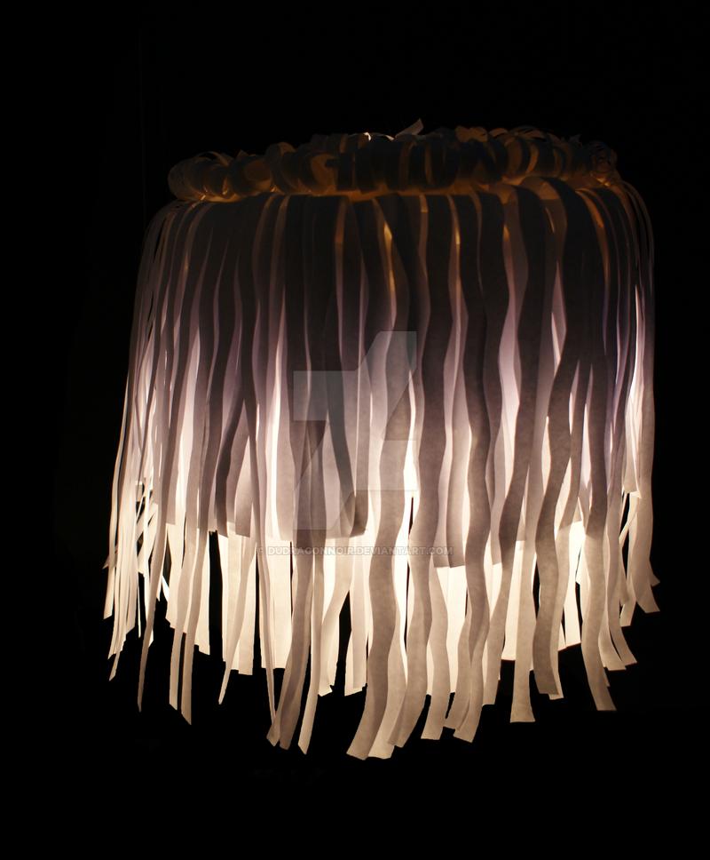 Paper Jellyfish by DuDragonNoir