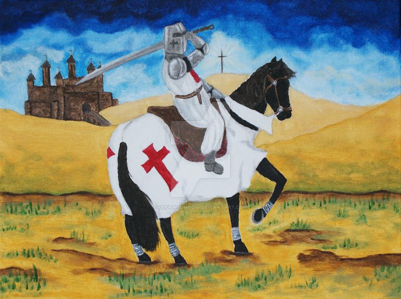 Knight Templar by DuDragonNoir