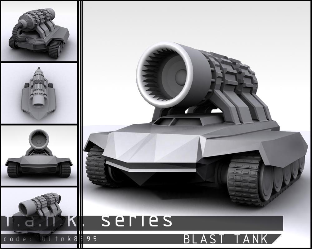 T.a.n.k. Series: Blast Tank by Ricius