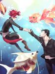 Bring you see goldfish