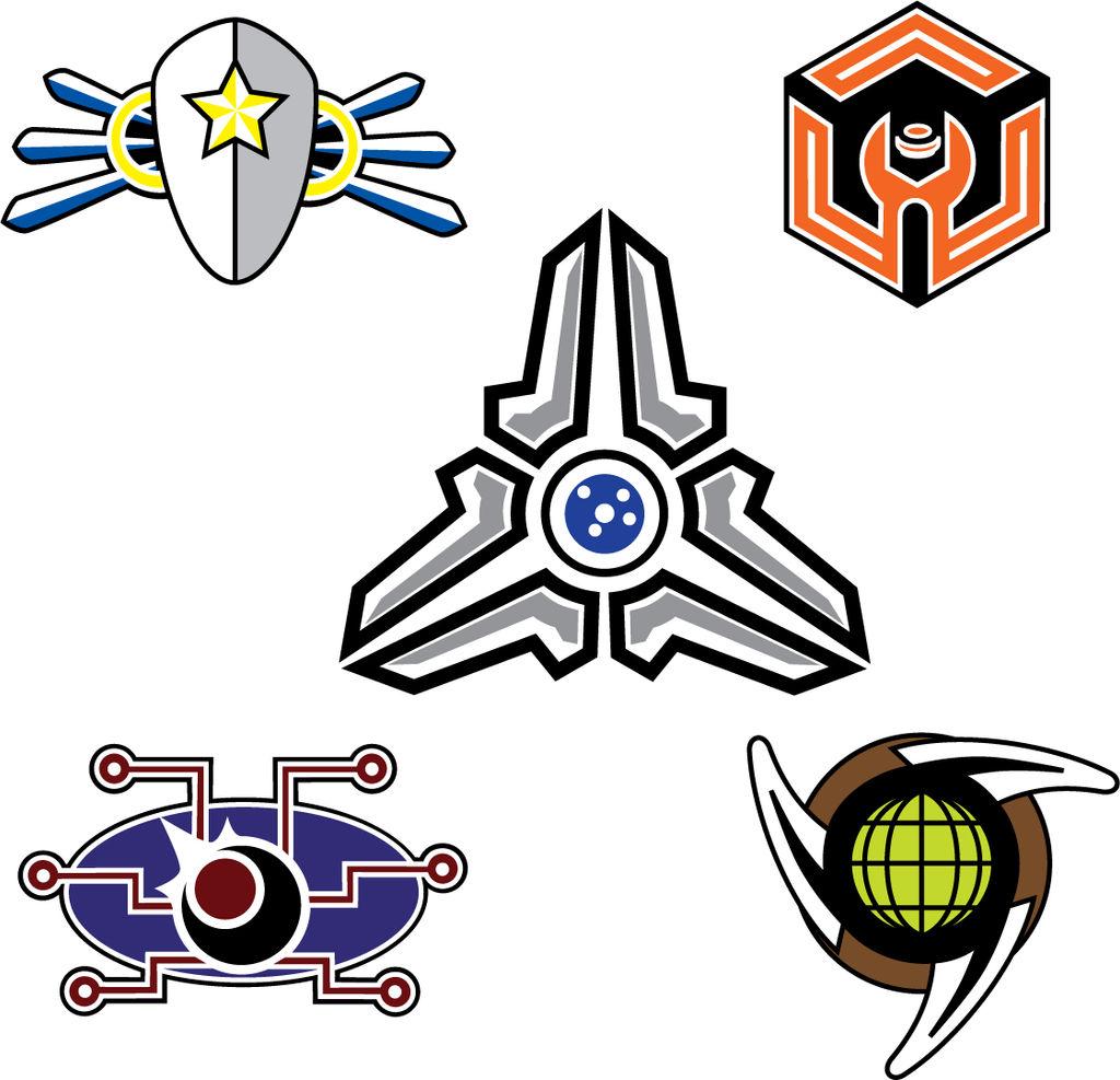 Nexus Adventures: Faction Logos