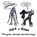 Corpus Rahkshi: Xara x Glass by 0nuku