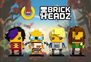 LU Brickheadz - Faction Leaders by 0nuku