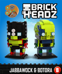 Brickheadz - Jabbawock and Botora