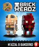 Brickheadz - M'azzal and Banserko