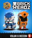 Brickheadz - Voluki and Deccon