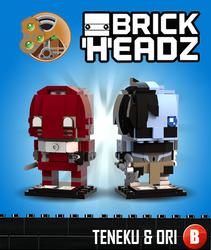 BDayHeadz - Teneku and Ori by 0nuku