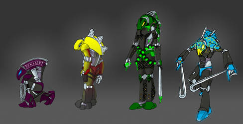 Corpus Rahkshi Characters by 0nuku