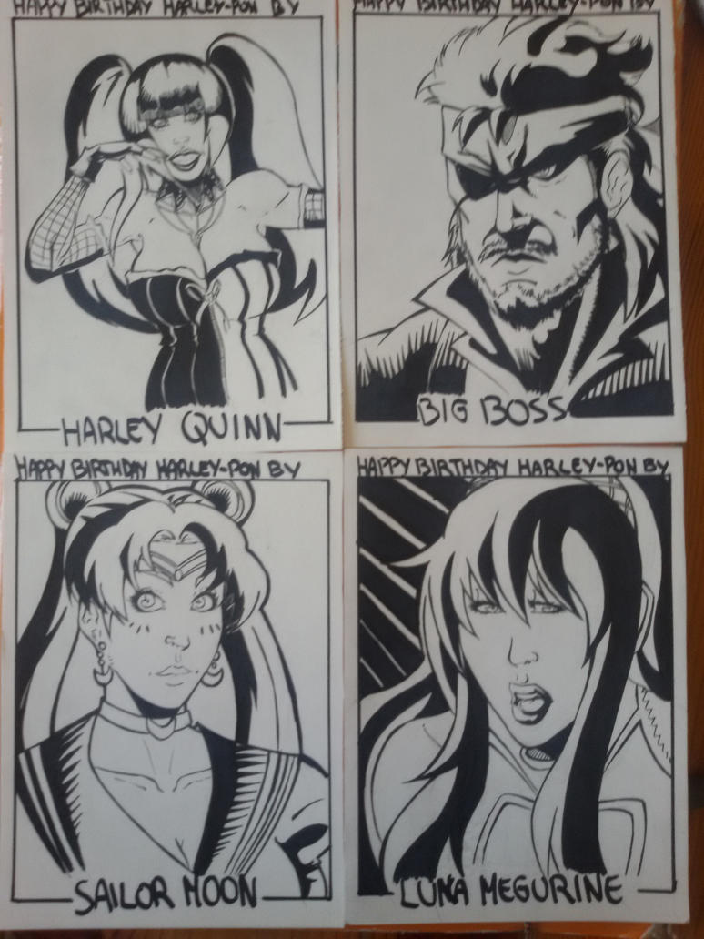 Sketch Cards collection by HopeMacchanWhite