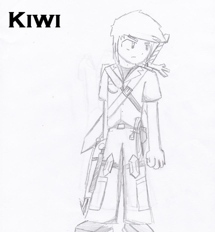 Kiwi Redesign/ OC input by Kiwiwarrior