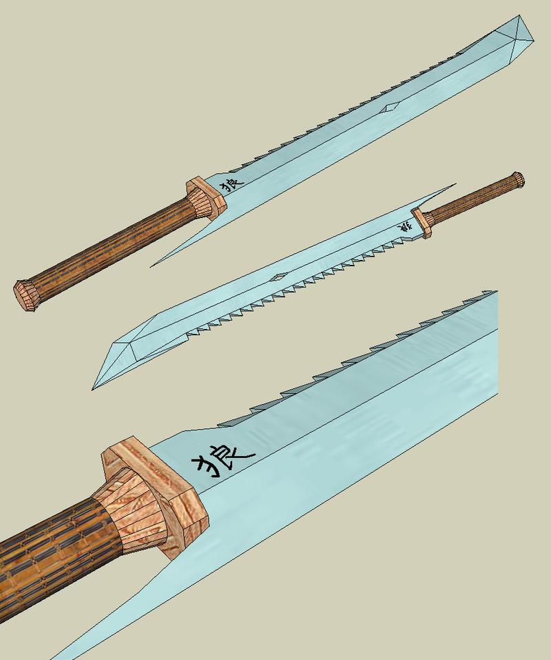 Seiji __Ookami____the_Wolf_Sword_by_argoncero