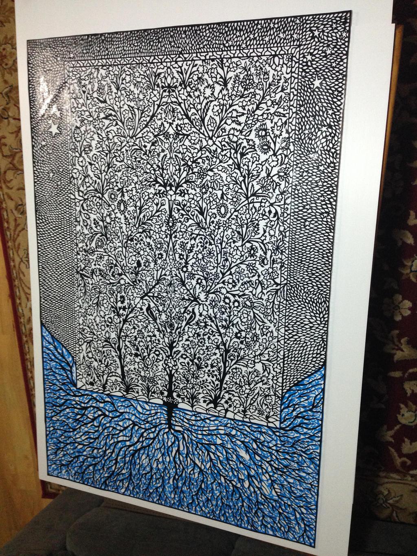 Tuba - Tree of heaven (inspiration by Persian art by tusifahmad1