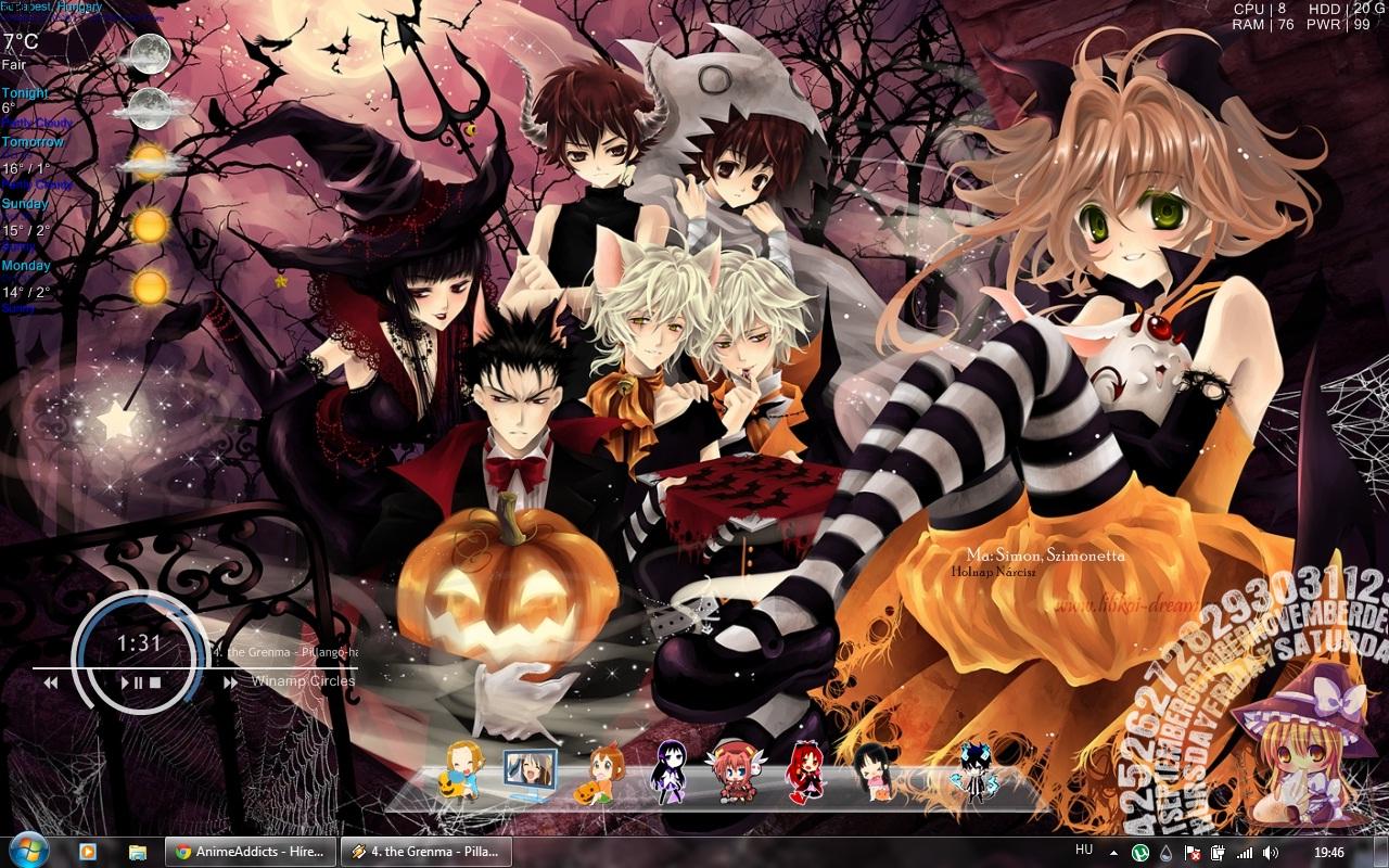 Halloween Anime Desktop by Zoei-chan on DeviantArt