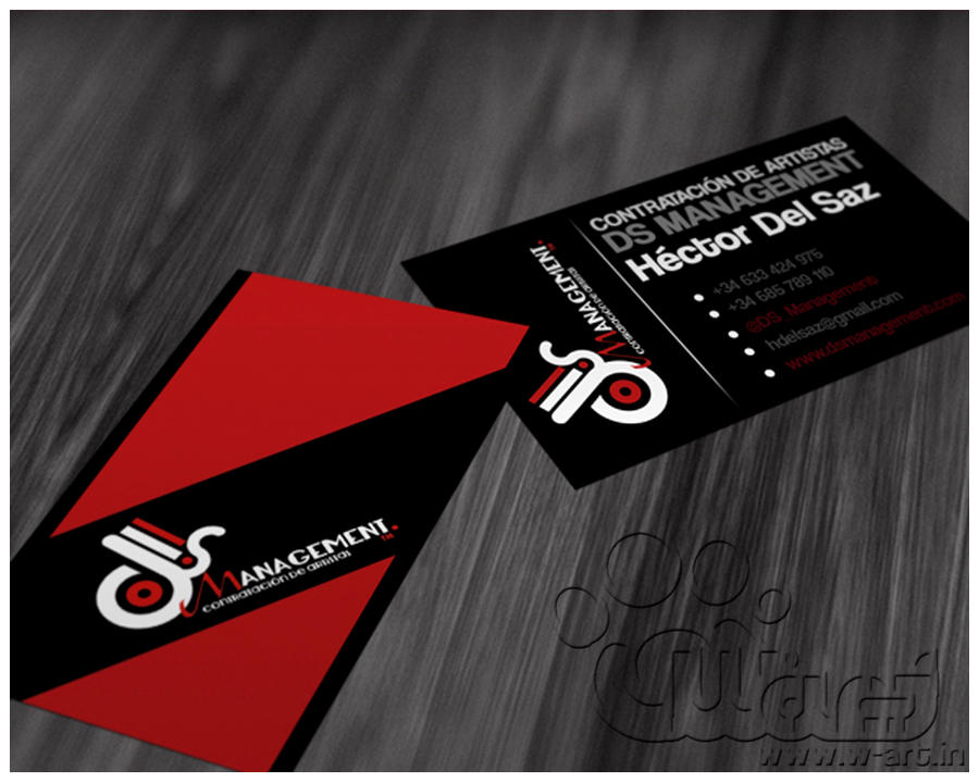 Hector del Saz Business Card by w-art-design on DeviantArt