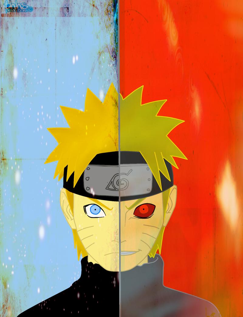 Fantastic Wallpaper Naruto Face - the_two_face_of_naruto_by_thehardheadedsavior  Pic_483479.png