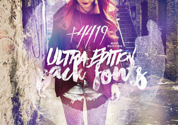 ULTRA EDITION Pack Fonts +4419 by makieditions