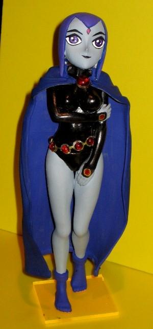 Raven From Teen Titans Toys : Teen titans raven custom by teentitans evr on deviantart