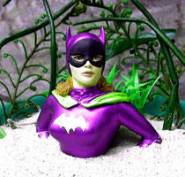 60's batgirl in quicksand by TeenTitans4Evr